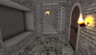 Landing/passageway.